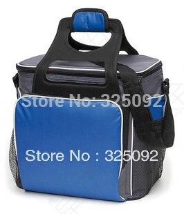 ВЫСШИЙ СОРТ Большой толстый изолированный более холодный мешок красного буле два размера insluted тепловой сумку для пикника