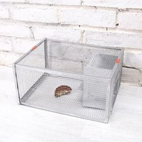 Household Large Automatic Continuous Reusable Catch Mouse Traps Bait Snap Catcher Mice Mousetrap Hunt Rat Mice Rodent Cage