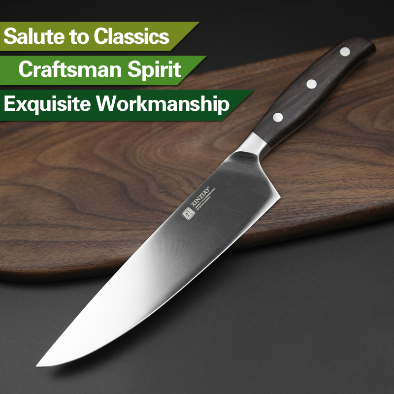 Image 5 - XINZUO High Quality Paring Utility Cleaver Chef Santoku Knife 