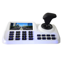 joystick controller keyboard with New 5 inch LCD screen H.265 Onvif 3D CCTV IP PTZ HDMI USB for IP PTZ camera Security