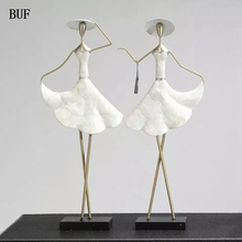 BUF Europe Style Women Figurines Statue Fashion Beauty Statue sculpture Ornament Home Decoration Accessories Figurine Statue