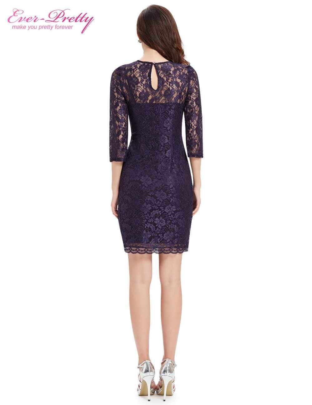 ac6cf5fc4f7 ... Коктейльные платья постоянно довольно EP03792 особых случаев модные  женские туфли с длинным рукавом Slim Fit элегантные ...
