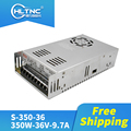 Free shipping fast shipping 50 pcs 350W-36V-9.7A Switching power supply