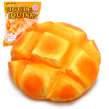 Jumbo Pineapple Buns Squishy Super Slow Rising Bread Scented Squeeze Toy Original Package Kid Gift jumbo squishy french fries chips slow rising