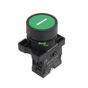 22mm NO N/O Green Sign Momentary Push Button Switch 600V 10A ZB2-EA3311