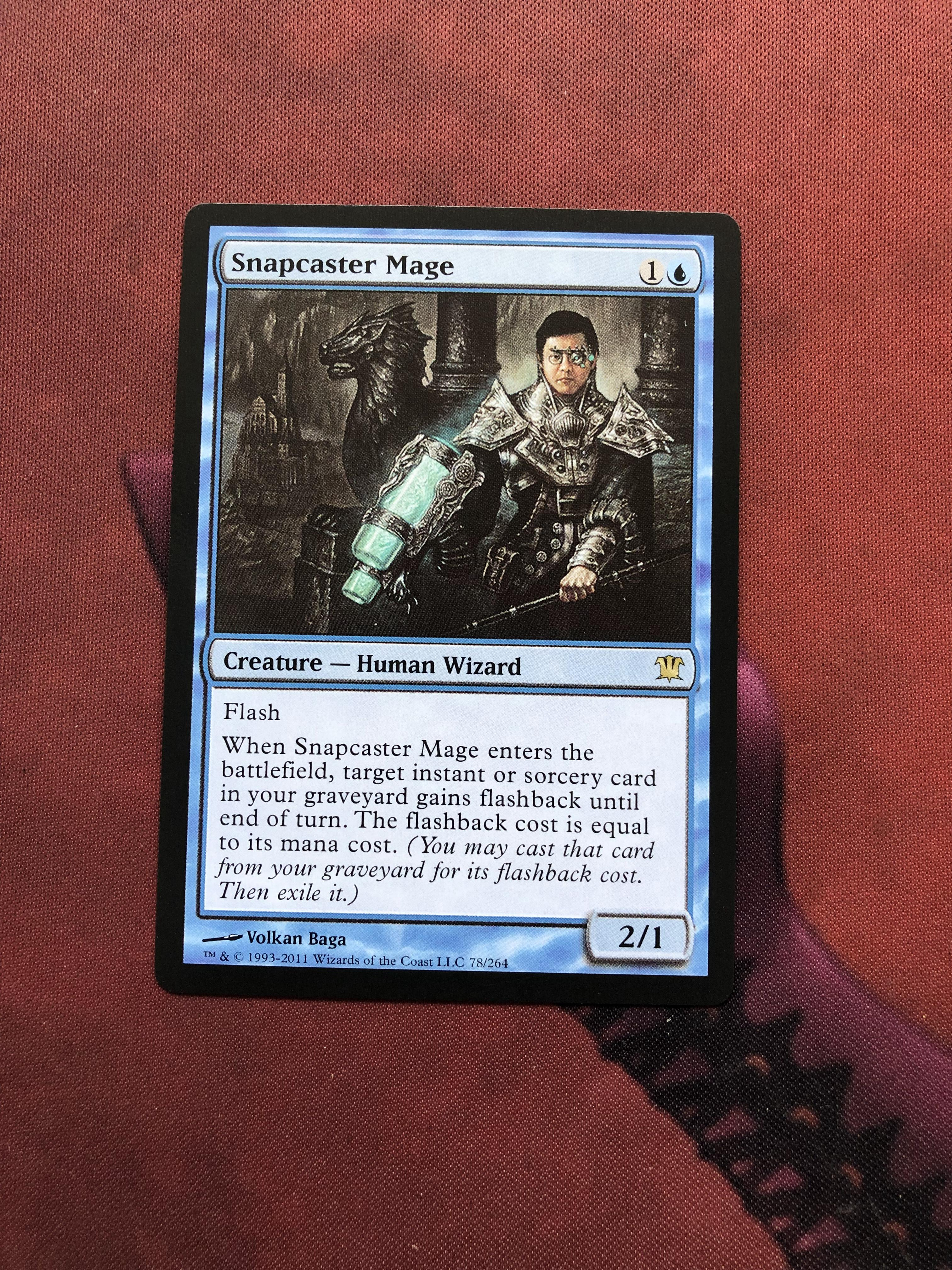 Snapcaster Mage Innistrad Magician ProxyKing 8.0 VIP The Proxy Cards To Gathering Every Single Mg Card.