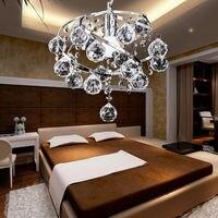 Modern Spiral Crystal Chandelier Pendant Lamp Light Fixtures Home Dining Room