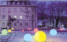 Плавающий магический светодиодной подсветкой шар бассейн светодиодов света / из см