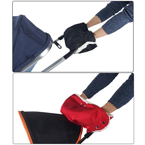 Warm Kid Stroller Gloves Winter Waterproof Carriage Pram Hand Muff Buggy Glove N83Y 7FYP 9C8E