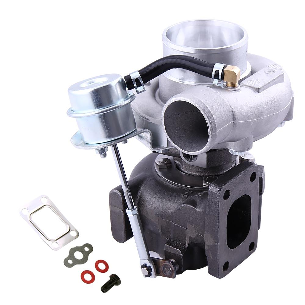 Universale Turbo T25 T28 GT25 GT28 GT2871 GT2860 SR20 CA18DET 1.8-3.0L Raffreddato Ad Acqua Piccolo Turbocompressore AR.64/AR.60 400BHP