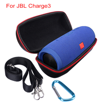 100% Brand New Carry Belt Zipper Sleeve Portable Protective Pouch Bag Box Shoulder Cover Case For JBL Charge3 Bluetooth Speaker