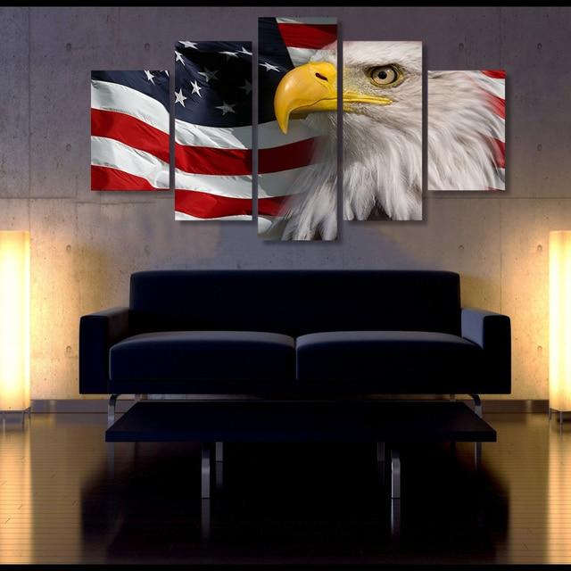 Eagles living room decor