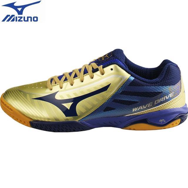 Mizuno Pria Gelombang Drive A3 Tenis Meja Sepatu Profesional Bantal Stabil  Olahraga Sepatu Bernapas Sneakers ( a9ca17a9b8