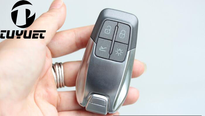 4 կոճակի փոխարինում Smart Remote Key Shell Case For Ferrari 488 With Insert Spare Key Blade Fob Key Cover