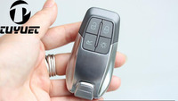 4 Button Replacement Smart Remote Key Shell Case For Ferrari 488 With Insert Spare Key Blade Fob Key Cover