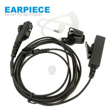 Walkie Talkie Headset Earpiece Mic for Hytera HYT PD700 PD700G PD702G PD705G PD752 PD780 PD782 PD785 PD785G PT580H Two Way Radio(China)