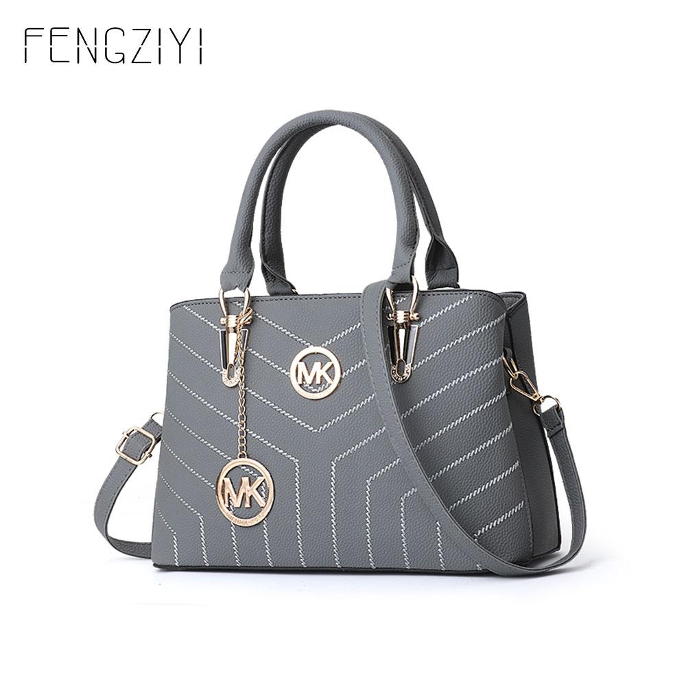 922ddf6a8068 Женская сумка через плечо для женщин, модная сумка из искусственной кожи,  топ-ручка