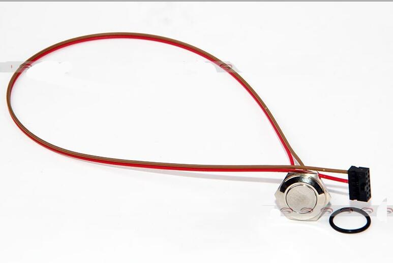 Купить 16Mm Metal Power Reset Button Switch Cable For Dell C6100 Motherboard Workstation L5639 L5520 30Cm