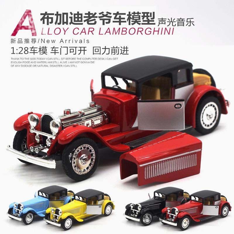 1:28 modelo de simulación de coche, modelo de coche de aleación. - Vehículos de juguete para niños - foto 1