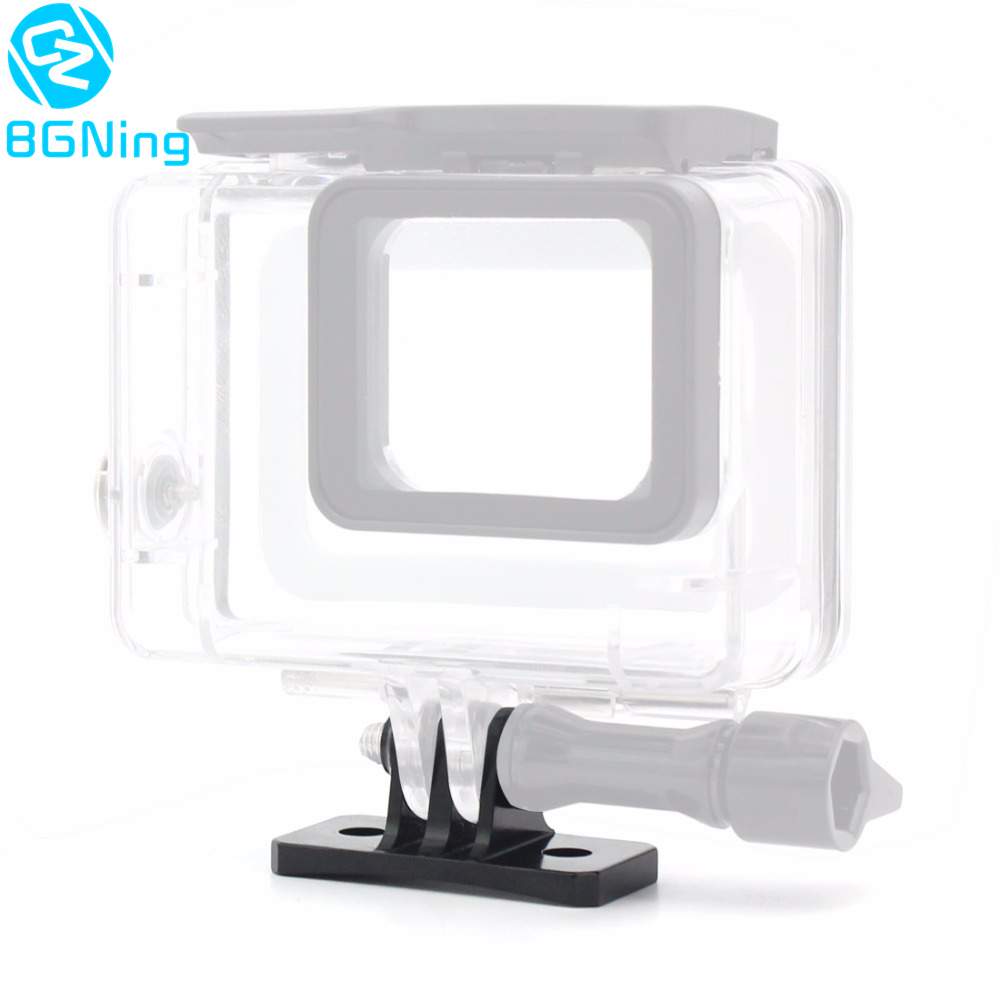 Helmet Fixed Mount Adapter For Gopro Hero 6 5 4 Yi SJcam Sports Action Camera Riding Racing Climbing Ski Skydiving Accessories