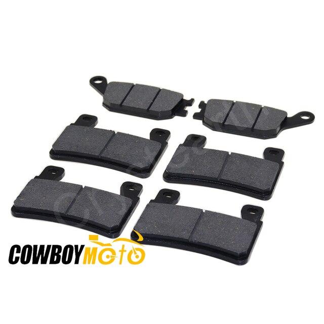 6pcs/set Motorcycle Front & Rear Brake Pads For Honda CBR600RR CBR 600RR CBR 600 RR 2003 2004 03 04 CBR600 F4 Sport 1999-2007