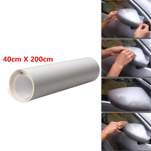 40 X 200 cm Car Door Edge Clear Protective Satin Finish Vinyl Wrap Guard Film Sheet