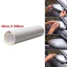 40X200 cm bord de porte de voiture clair protecteur Satin finition vinyle Film de protection feuille