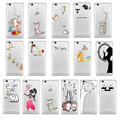 "Cute Painting Hollow Phone Case For Xiaomi Redmi 3S Cartoon 5.0"" Silicone Case Cover For Xiaomi Hongmi 3S VI372 P18 0.4"