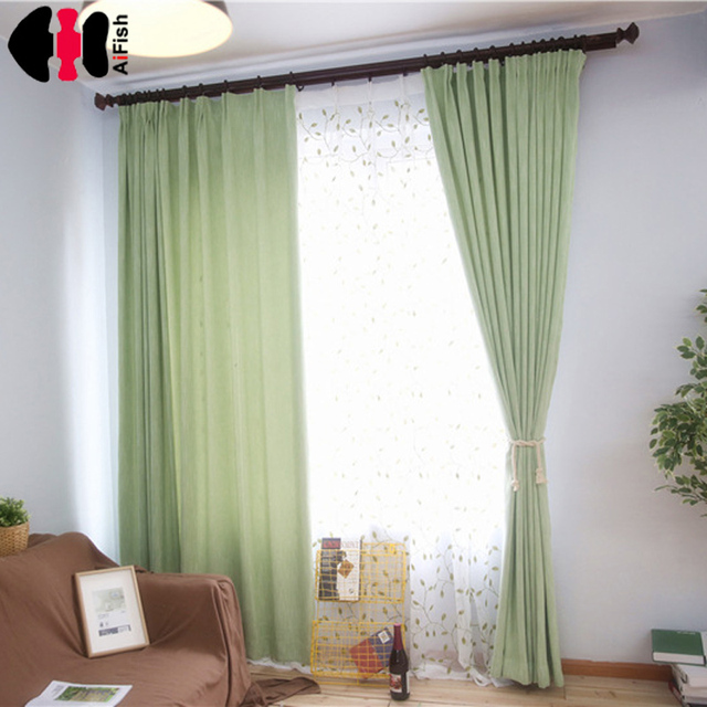 modern simple style natural blackout curtains pink eaves purple solid color ornament curtains sofa cover table
