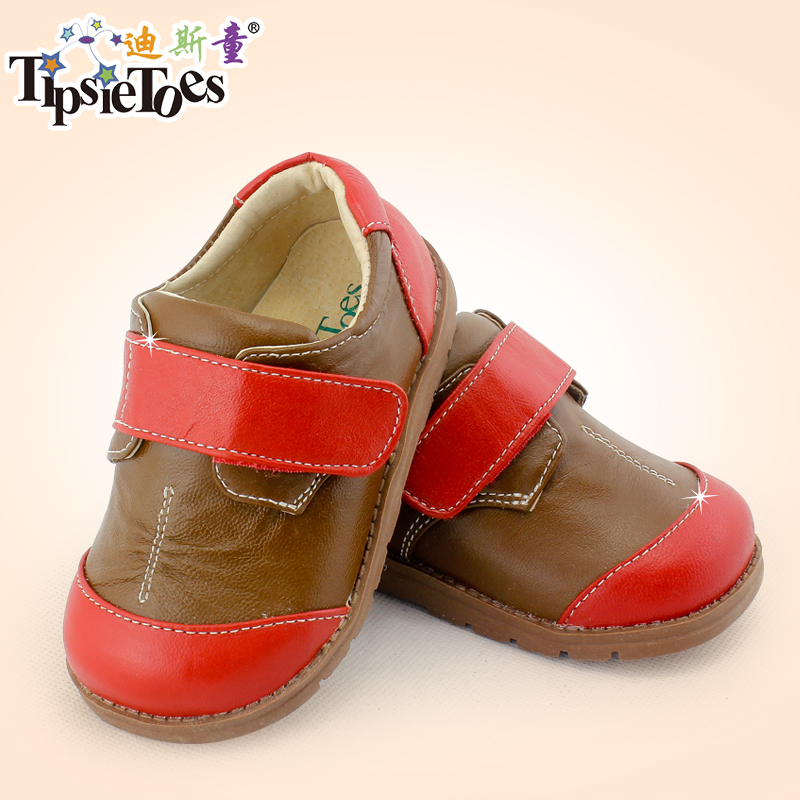 TipsieToes Brand Casual Sheepskin Leather Kids Children Sneakers Shoes For Boys And Girls New 2018 Spring Autumn 63104 ivories повседневные брюки