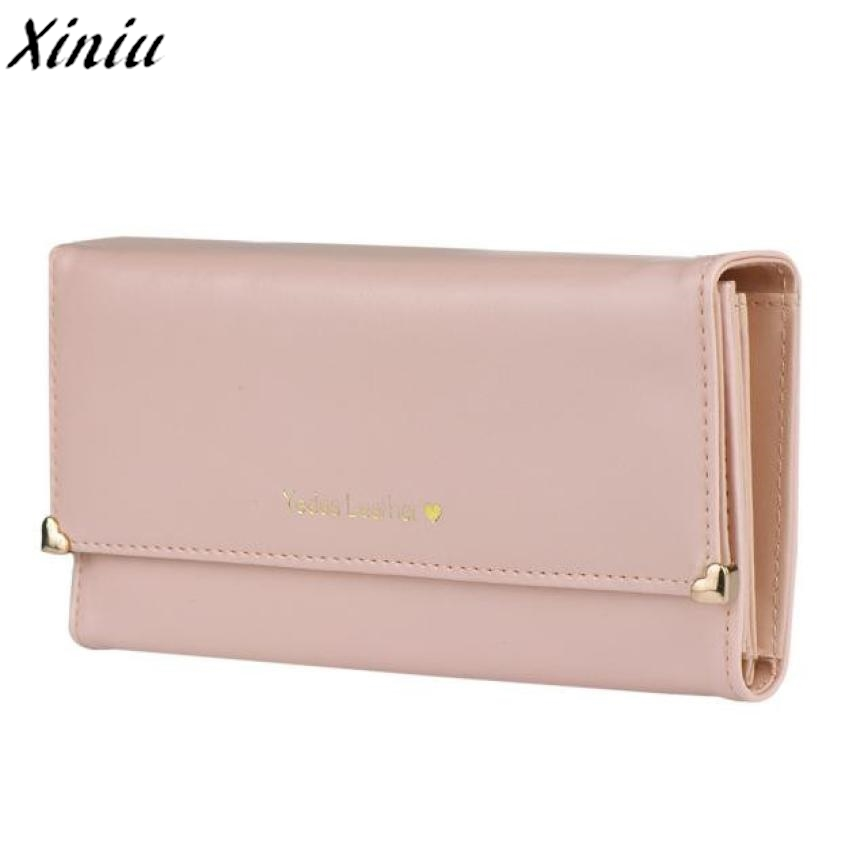 Women Wallet Candy Colord Clutch Long Purse PU Leather Wallet Credit Card Holder Bags Gift Carteira Feminina #9404 comics dc marvel wallets green arrow leather purse women money bags gift wallet carteira feminina bolsos mujer de marca famosa