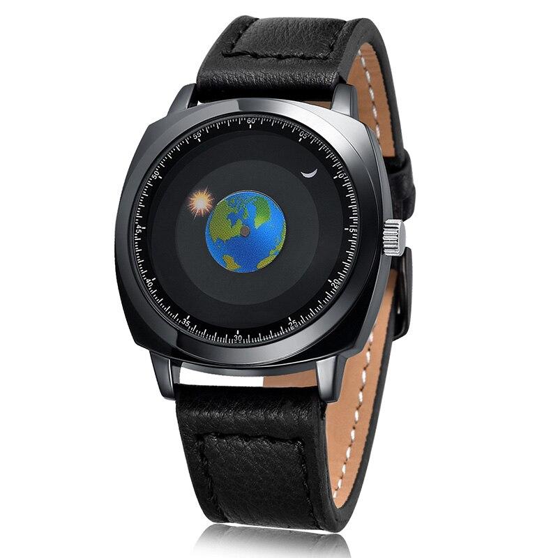 2019 mens waterproof watches import quartz movement luxury brand homme leather strap wristwatch hardlex men 39 s watch in Quartz Watches from Watches