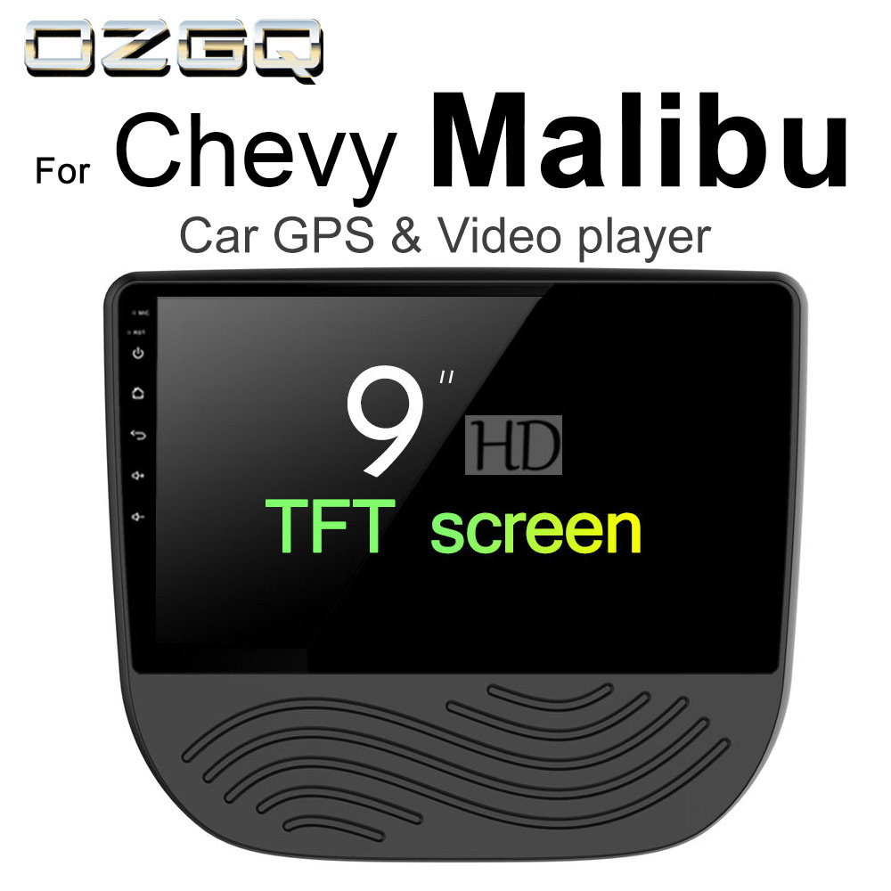 US $450 0 |OZGQ Android 7 1 Car Player For Chevrolet Malibu 2015 2016 2017  2018 Screen Auto GPS Navigation BT Radio TV Audio Video Stereo-in Car
