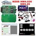 High Performance New 2.30 KESS V2 Hardware 4.036 Add OBD Function Auto ECU Tuning KESS K-Suite Add ECM TITANIUM 161 FREE GIFT