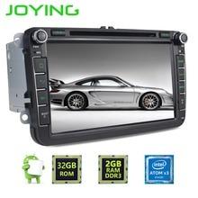 Радуясь 2 DIN Android 6.0 4 ядра 2 ГБ + 32 ГБ 1024*600 стерео Радио GPS навигации для VW Skoda Поло Гольф Passat CC головное устройство