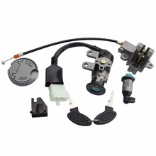 GOOFIT Ignition Switch Key Set for GY6 49cc 50cc Chinese Scooter Moped H054-037
