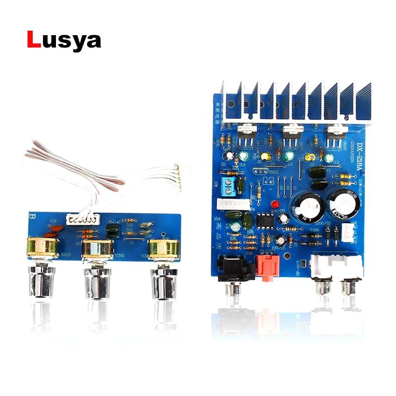 TDA2030 2.1 channel 15W*2+30W Subwoofer power audio Amplifier board dual AC 12-15V F6-013