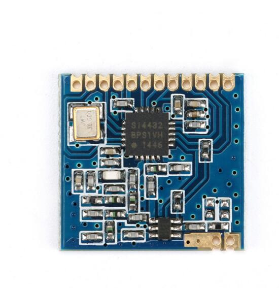 SI4432 Wireless Module Remote Wall King Wireless Transceiver Modules 1000 M With Free Spring Antenna
