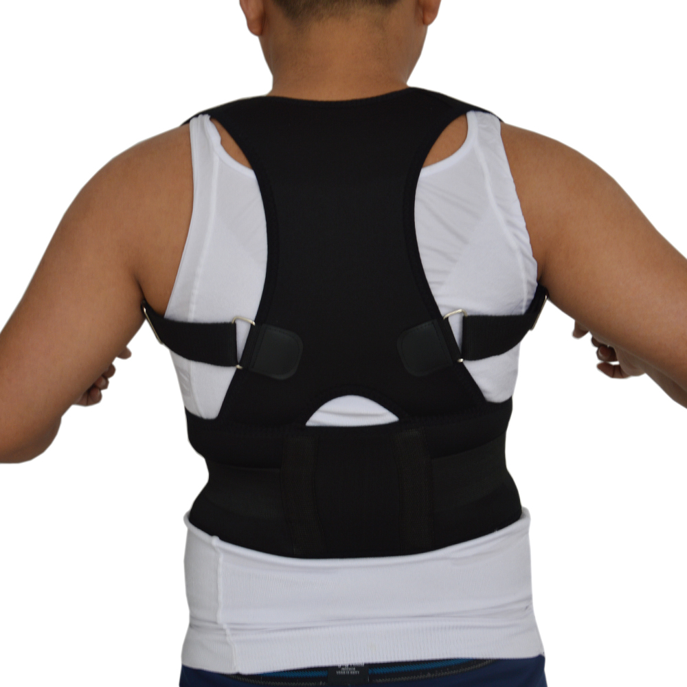 2016 Hot Sale Adjustable Arm Support Back Braces Support For Men Women Care Body Back Pain Belt Brace Lumbar Support