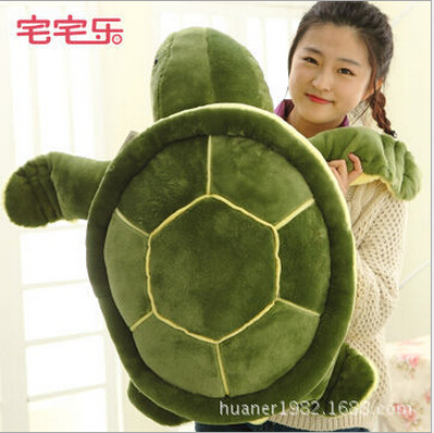 135cm Cute Green Sea Turtles / Tortoise cushion pillow Plush Toys,NICI Turtle Plush Toys doll for kids gift цена