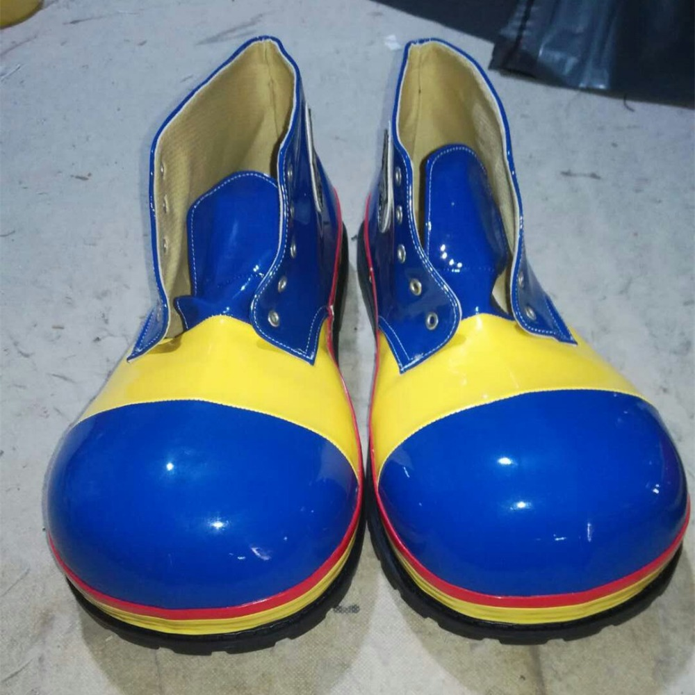 3 стиля ПУ милый клоун обувь Забавный круглый Детский рюкзачок голова обувь для взрослых Хэллоуин косплей обувь для карнавального костюма а... - 3