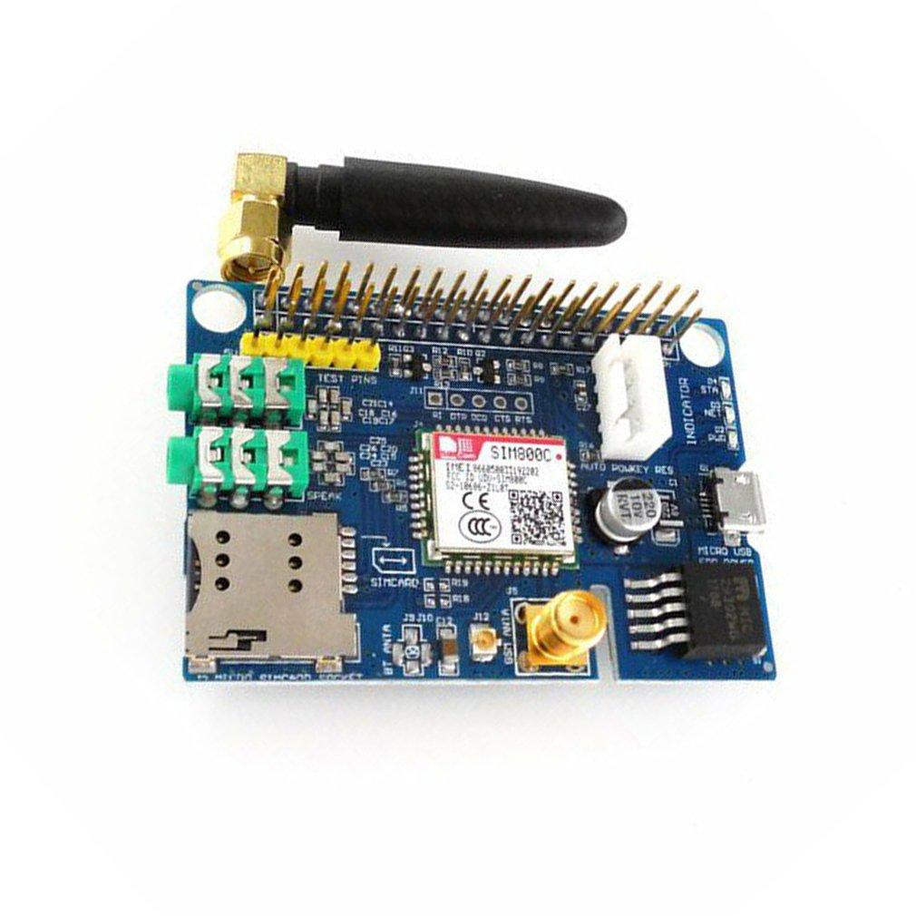 Small Size SIM800C GSM GPRS Module Quad-band Development Board Module Suitable For Raspberry Pi
