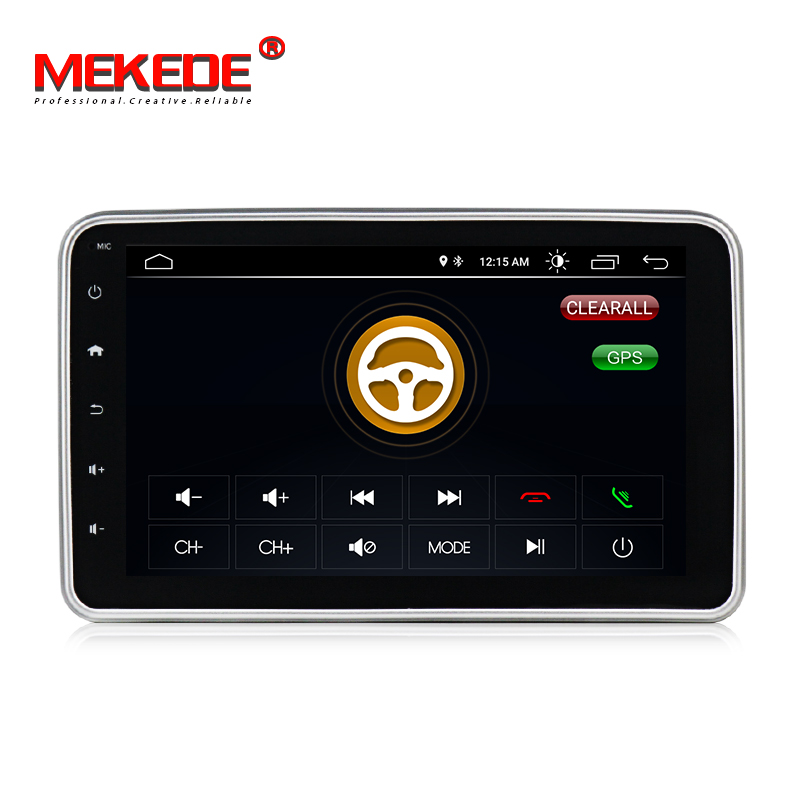 1024x600 Quad Core Reine Android 8.0 Auto Multimedia-Player Auto PC Tablette Single 1din 8 ''GPS Navigation Auto stereo Radio BT KARTE