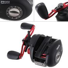 купить Right Hand Baitcasting Reel 12+1BB 7.3:1 Bait Casting Fishing Reel Magnetic and Centrifugal Dual Brake онлайн