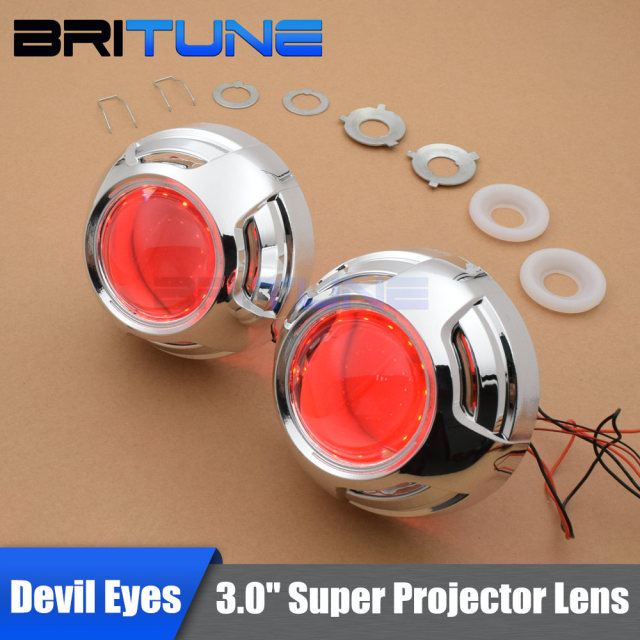 3 0 Super Upgrade Hid Bixenon Projector Headlamp Lens W Wo Led