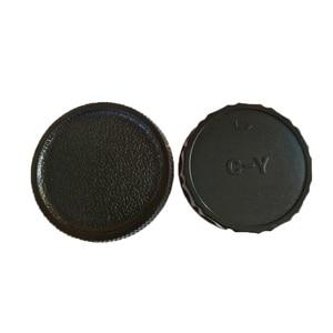 Image 3 - Tapa de cuerpo de cámara + tapa de lente trasera para Sony Alpha NEX Minolta MD Leica para cámara Pentax Olympus Micro M4/3 Fuji C Y M39, 10 unids/lote