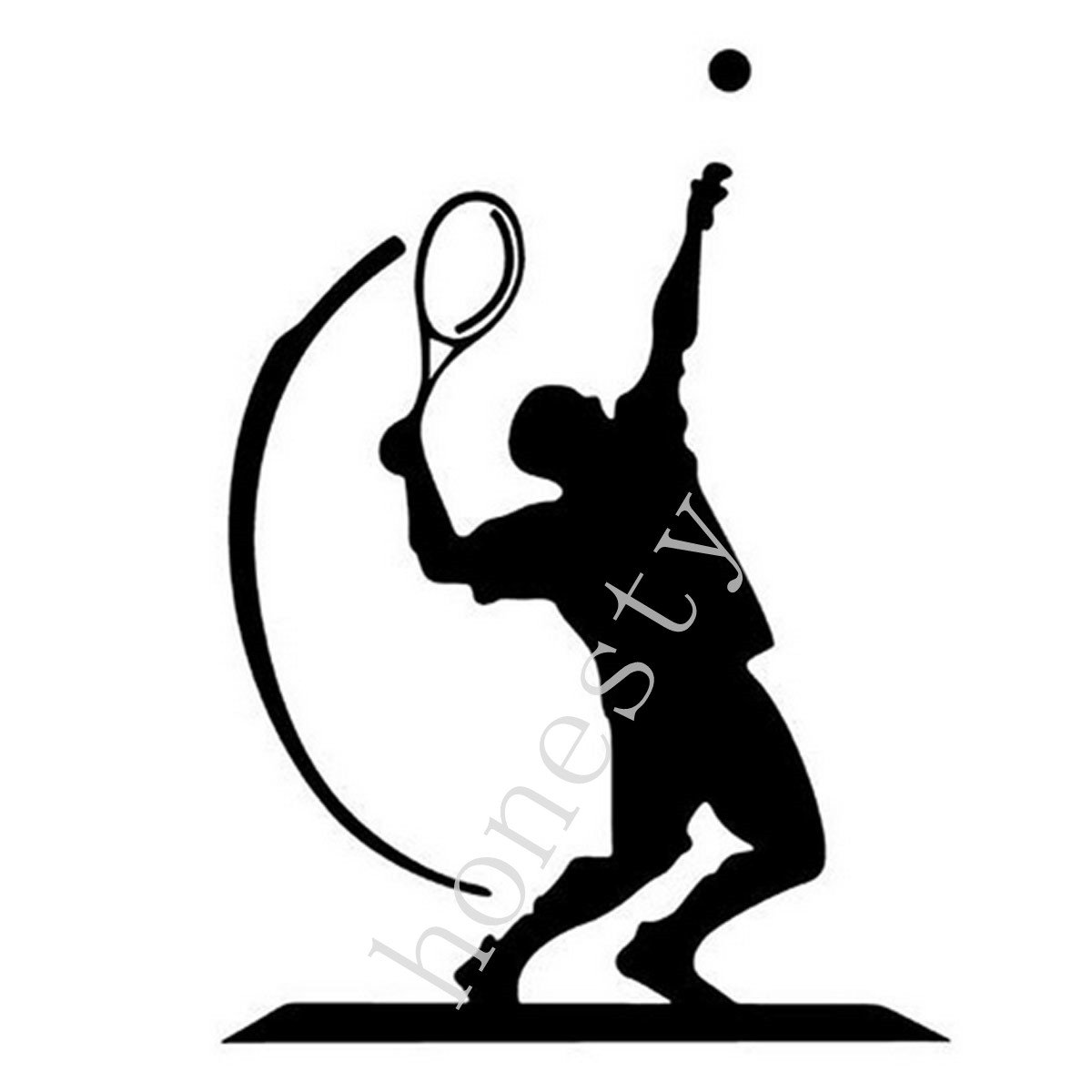 The Racquet Club Hotel Occupation Tennis Custom Personalized sports Car Stickers