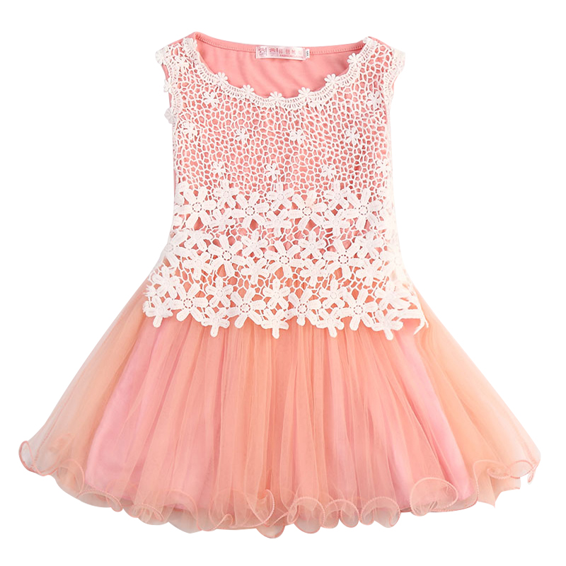 Summer Brand Flower Lace Princess Tutu Dress Kids Clothes Sundress Baby Girl 3 6 8T Kids Party Frocks Casual Wear Infant Vestido видеокамера sony fdr x1000v 4k