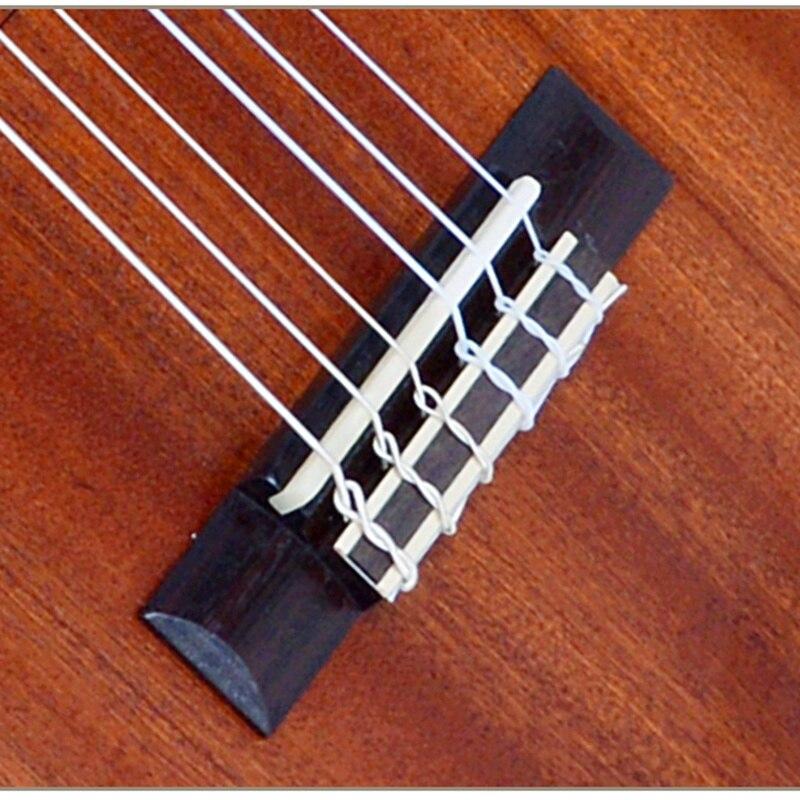 Guitalele Guilele 30 pouces Mini guitare électrique baryton guitares acoustiques 6 cordes Ukelele pick-up guitare de voyage musique - 4