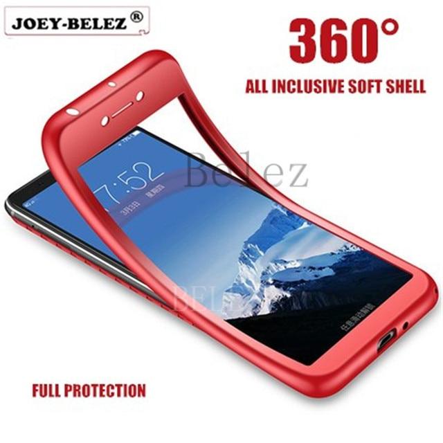 outlet store 997c3 3795e US $1.57 21% OFF|360 Full Body Case for Xiaomi Redmi 5 Plus 6 6A 4X 5A S2  Soft Cover for Redmi Note 5 5A Pro 4X 4 Mi A1 5X A2 6X Mi 8 8SE Coque-in ...